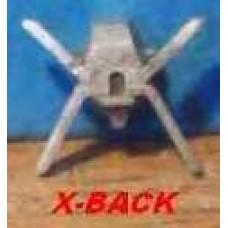 X-fin back
